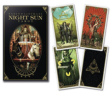 Load image into Gallery viewer, Night Sun Tarot Fabio Listrani