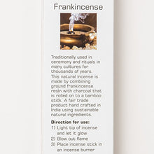 Load image into Gallery viewer, Nitiraj Premium FRANKINCENSE Natural Incense