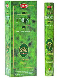 Forest HEM 20 Stick Hex Tube Incense