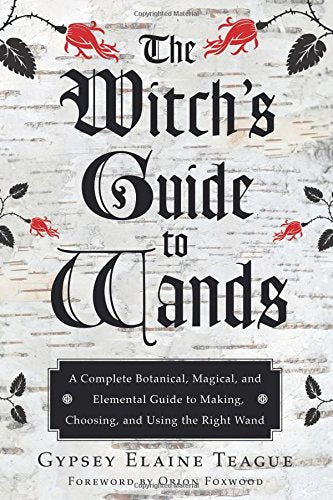 Witchs Guide Wands Botanical Elemental