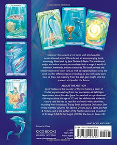 Oceanic Tarot specially commissioned illustrated