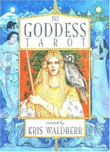 Load image into Gallery viewer, Goddess Tarot Deck Kris Waldherr