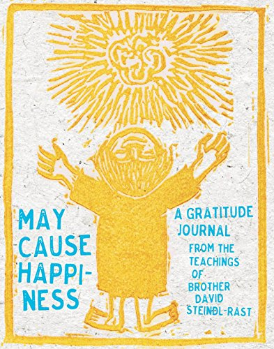 May Cause Happiness Gratitude Journal