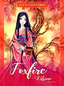 Foxfire Kitsune Oracle cards with guidebook