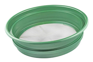 "Stackable 13-¼"" Sifting Pan with Mesh Size 1/100"""