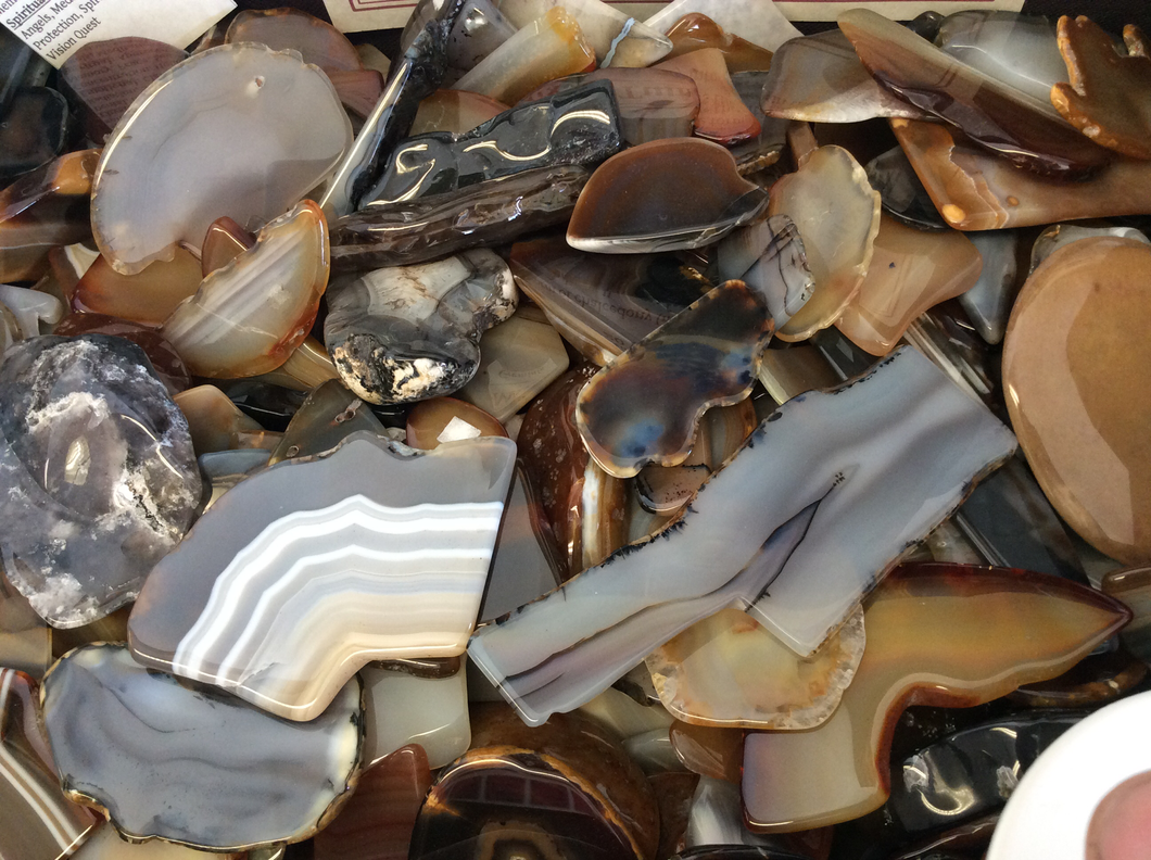 Mixed Agate Tumbled