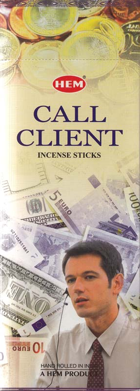 Call Client HEM Incense Stick 20 pack