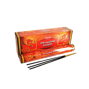 Dragons Blood HEM Hexagonal Incense 20 Pack