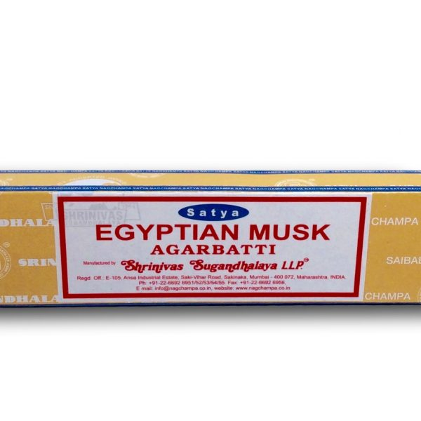 Egyptian Musk Satya Incense 15g
