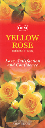 Rose (Yellow) HEM stick 20 pack