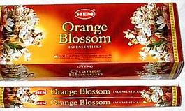 Orange Blossoms HEM Incense 20 Sticks