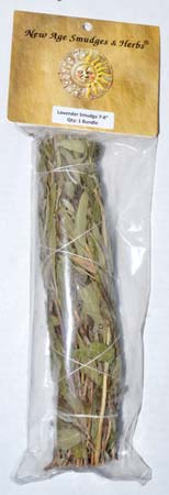 Lavender smudge stick 3-4