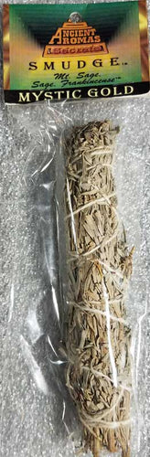 Mystic Gold smudge stick 5-6