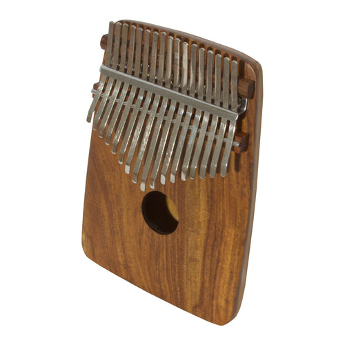 DOBANI 17-KEY THUMB PIANO WITH ROUNDED BACK