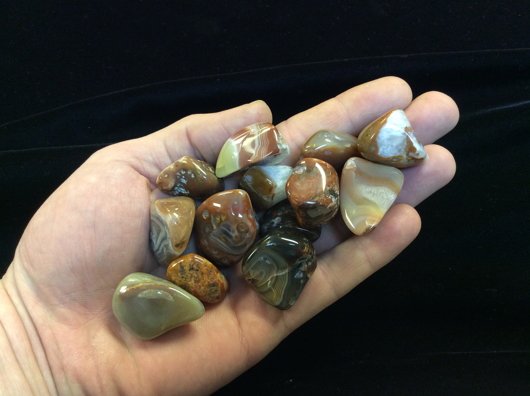 Lake Superior Agate Tumbled