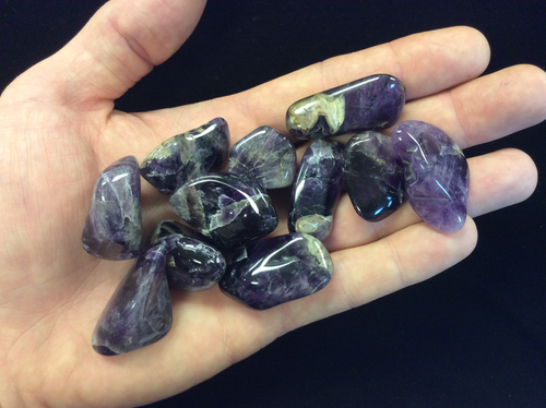Amethyst Dark (India) Tumbled