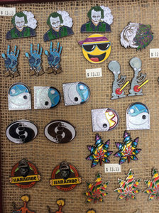 Hat Pins by Street Rat
