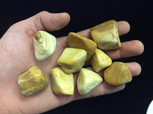Yellow Jasper Tumbled Premium
