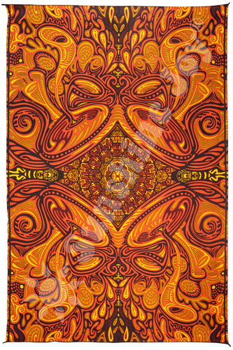 Honey Hive Tapestry 60x90 - Artwork by Chris Pinkerton