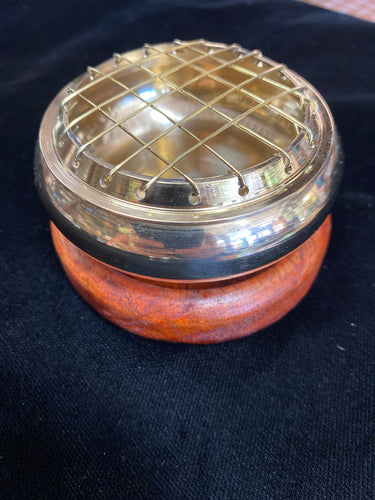 Incense Burner Brass Smudge Pot