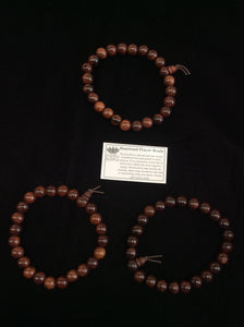 Rosewood prayer beads wrist mala
