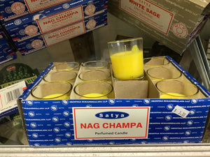 Nag Champa Votive Candles