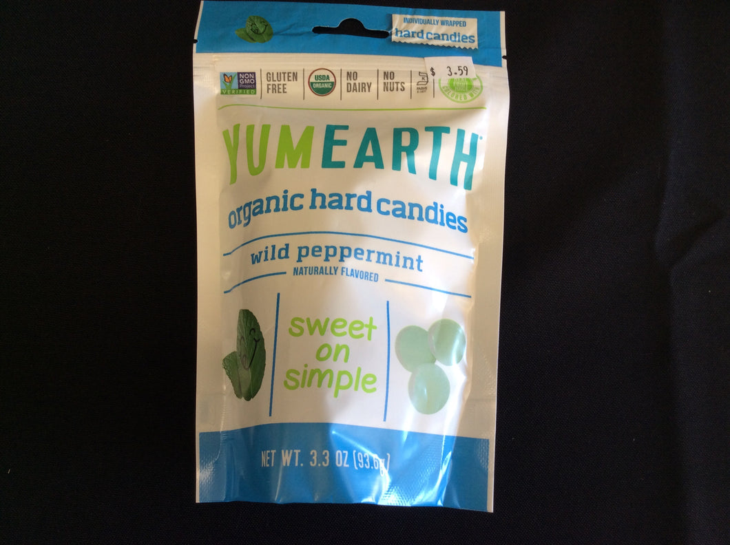 Peppermint Hard Candy YumEarth