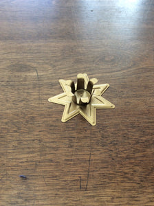 Taper Candle Holder Seven Pointed Star