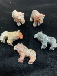 Soapstone Lion Power Animal