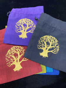 Bag Pouch Tree of Life