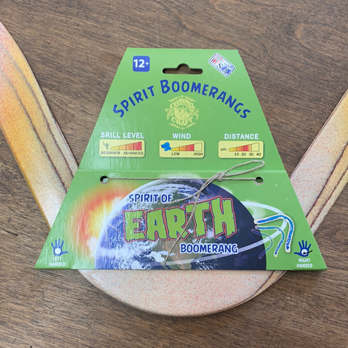 Spirit of the Earth Boomerang right handed