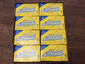 Lemonhead Candy .25 Box