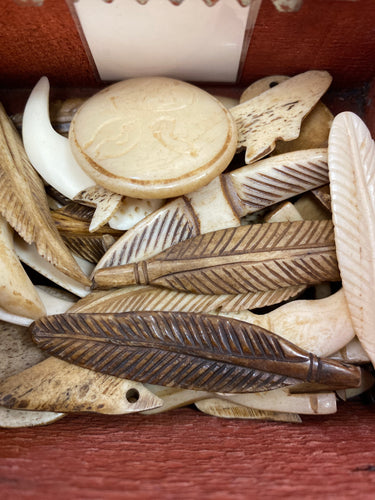 Bone Ivory Pendants