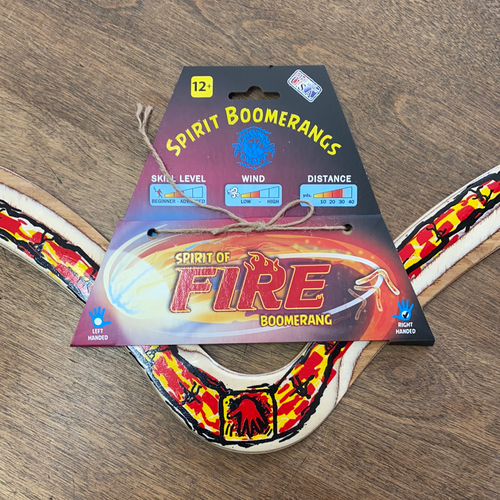 Spirit of Fire Boomerangs right handed