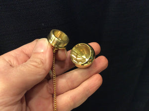 Pendulum Brass with compartment