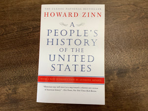 A People's History of the United States Paperback