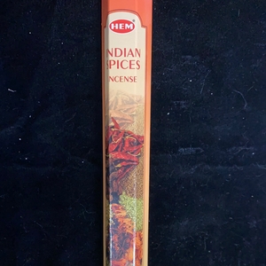 Indian Spices HEM Hexagonal 20 Stick Pack