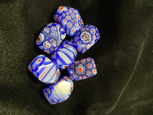 Millifiori Glass Beads