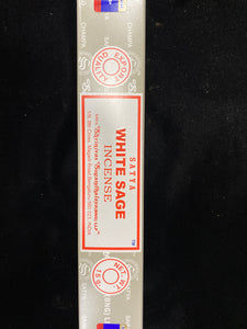 White Sage Incense Satya 15g
