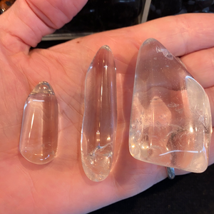 Clear Quartz Points Tumbled