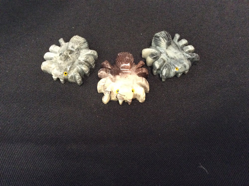 Soapstone Tarantula Power Animals