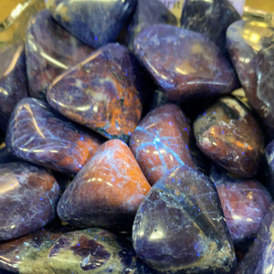 Sodalite (sunset) Tumbled