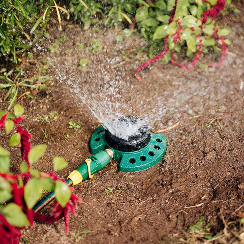 Metal 9-Pattern Sprinkler