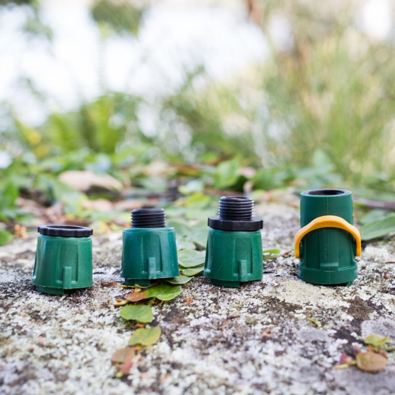Quick-Connect Garden Hose Fittings Set