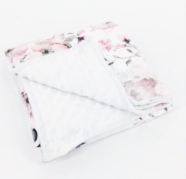 Cotton Snuggle Blanket - Cherry Blossom