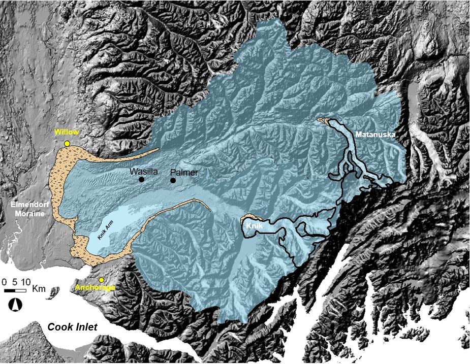 Glacial History of Matanuska and Knik Glaciers Since LGM