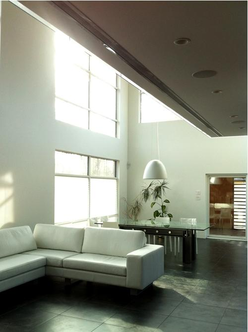 air vent cover brushed chrome finish custom 18 foot ceiling application 404 hosmer modern home by kulgrilles