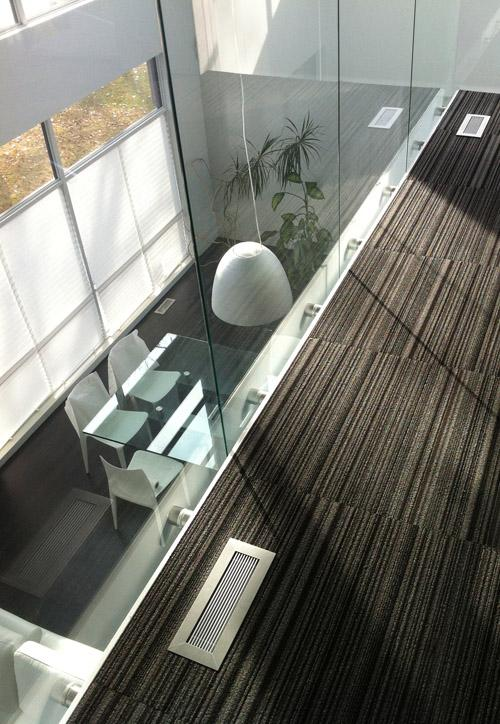 floor vent covers anodized clear finish on striped carpet balcony 404 hosmer modern home by kulgrilles