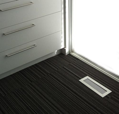 heat register anodized clear finish on striped carpet 404 hosmer modern home by kulgrilles