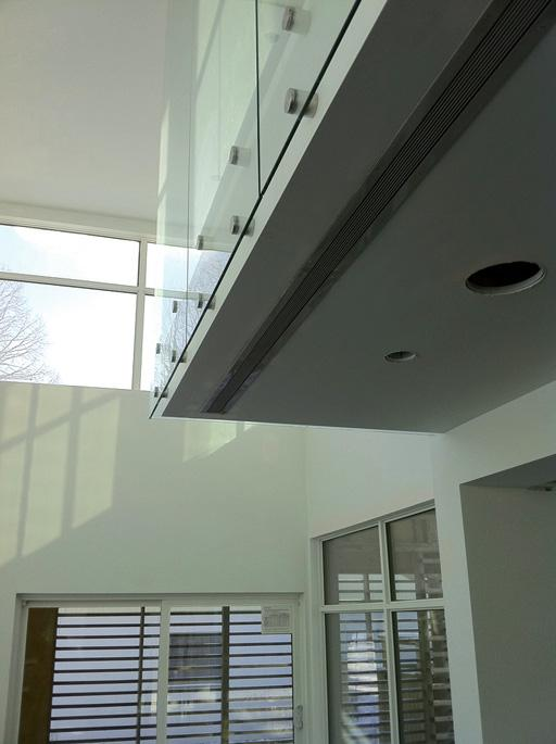 vent cover custom made brushed chrome finish custom 35 foot long vent cover modern residential home by kulgrilles